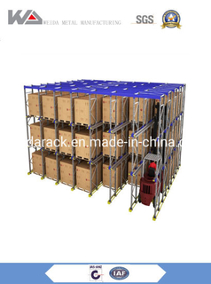 High Space Saving Automatic Radio Shuttle Shuttle Pallet Racking