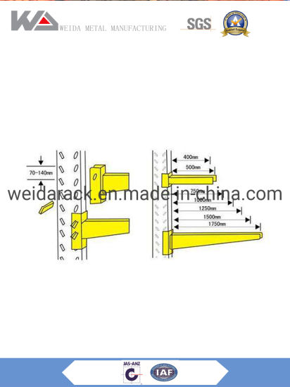 China Heavy Duty Cantilever Racking for Sale