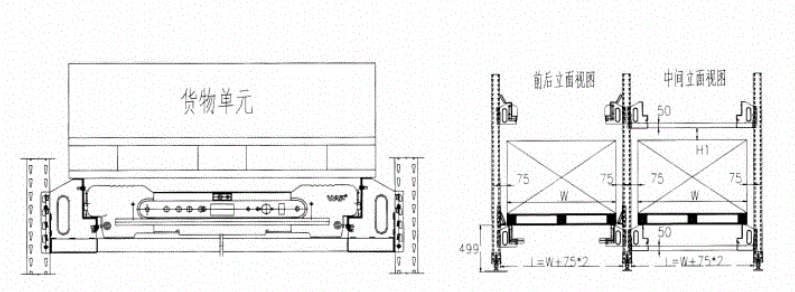 Storage unit and layout size