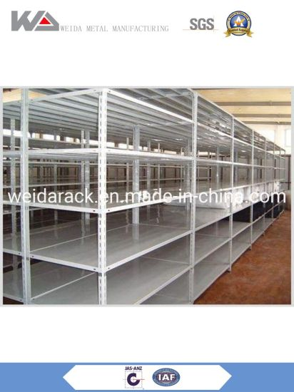 Adjustable Angle Light Metal Shelving