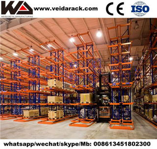 Industrial Narrow Aisle Pallet Racking System