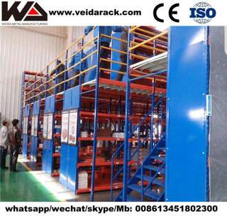 Heavy Duty Steel Mezzanine Racking System
