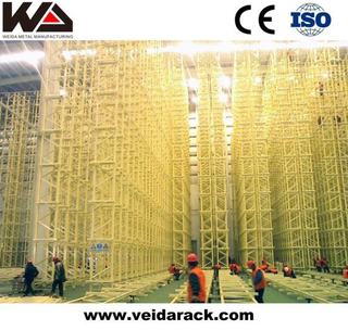 China Automated Warehouse Radio Shuttle Racking