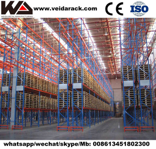 Industrial Narrow Aisle Pallet Racking