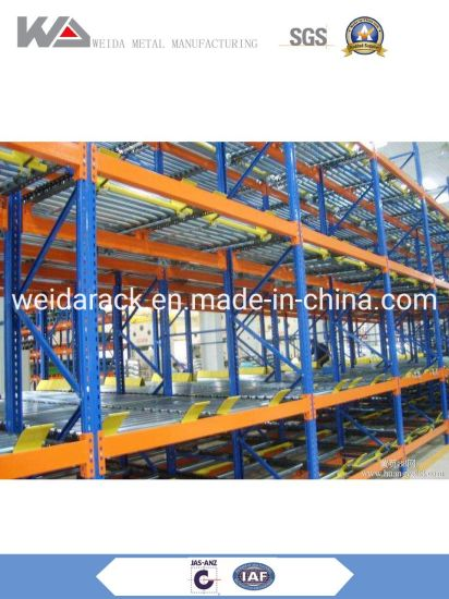 Gravity Flow Pallet Rack