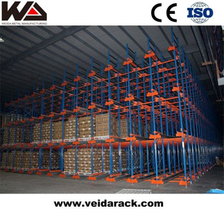 Commercial Radio Shuttle Racking System