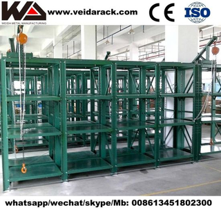Industrial Injection Mold Storage Racks