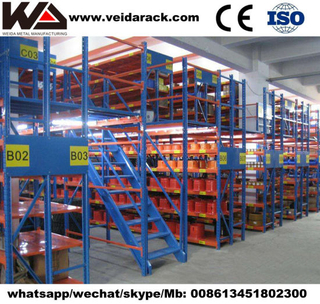 Industrial Pallet Racking Mezzanine Floors