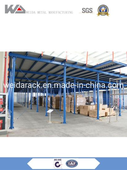 Industry Mezzanine Floor Racking System