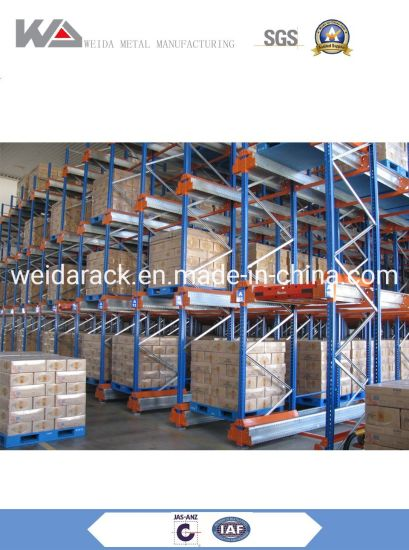 Automatic Radio Controlled Pallet Shuttle Rack