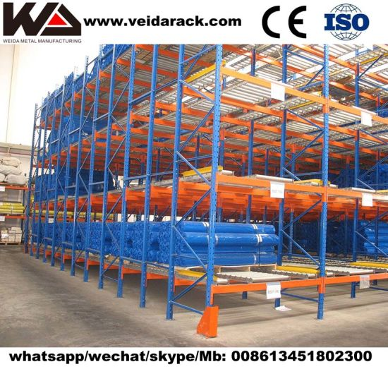 Industrial Warehouse Case Flow Rack
