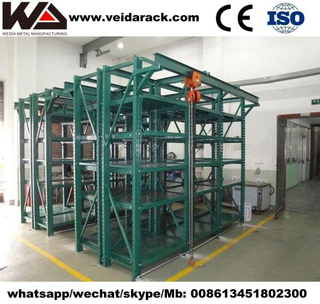 Industrial Mold Storage Rack Systems