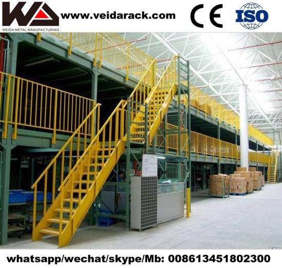 Heavy Duty Mezzanine Racking System