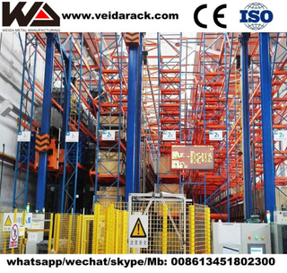 Warehouse Radio Shuttle Racking System